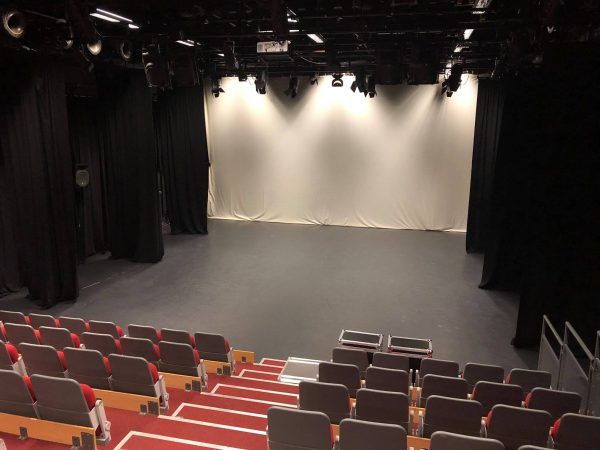 Miskin Theatre Auditorium stage